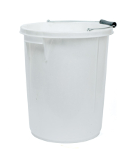 Plasterers Bucket White