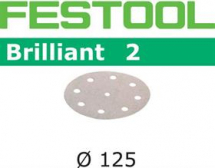 Festool Brilliant 2 P80 Sanding Disc 125mm Box 50