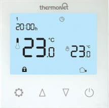 Thermotouch Glass Programmable Thermostat