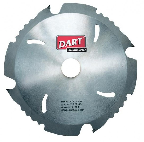 Dart Poly Crystalline Diamond(PCD) Saw Blades