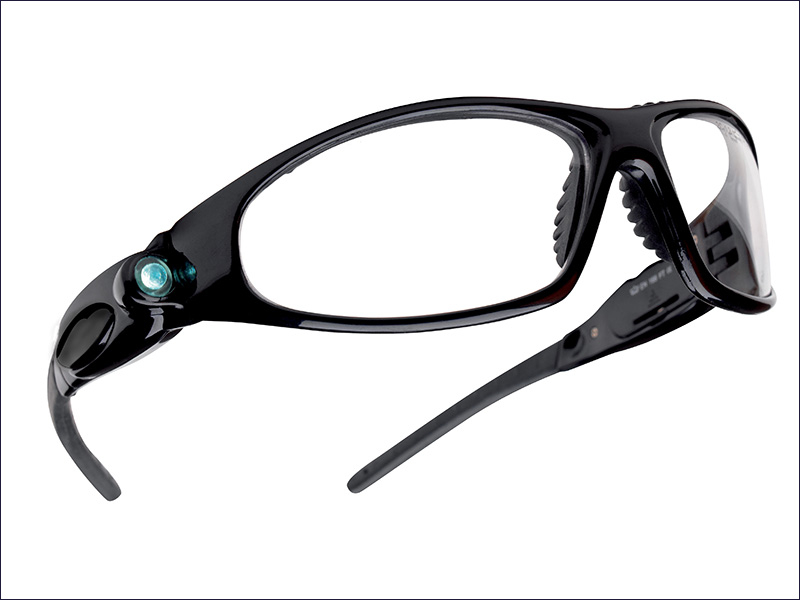 Bolle Safety Glasses c/w LED's