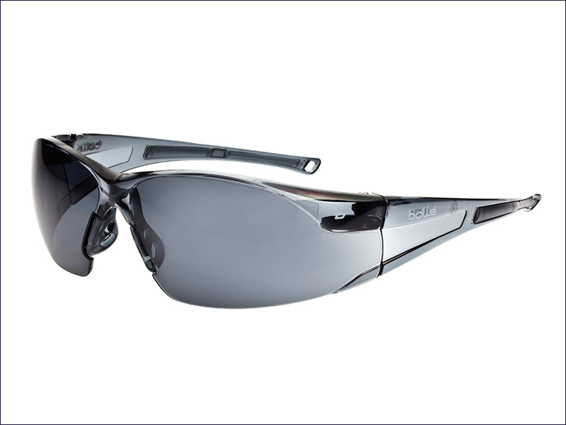 Bolle Rush Safety Glasses Smoke