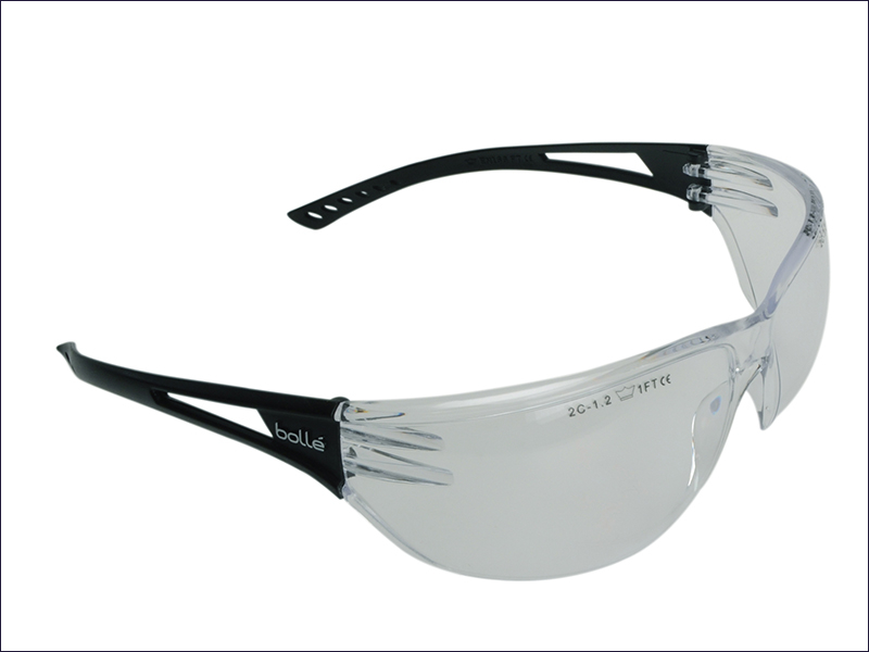 Bolle Slam Safety Glasses Clear