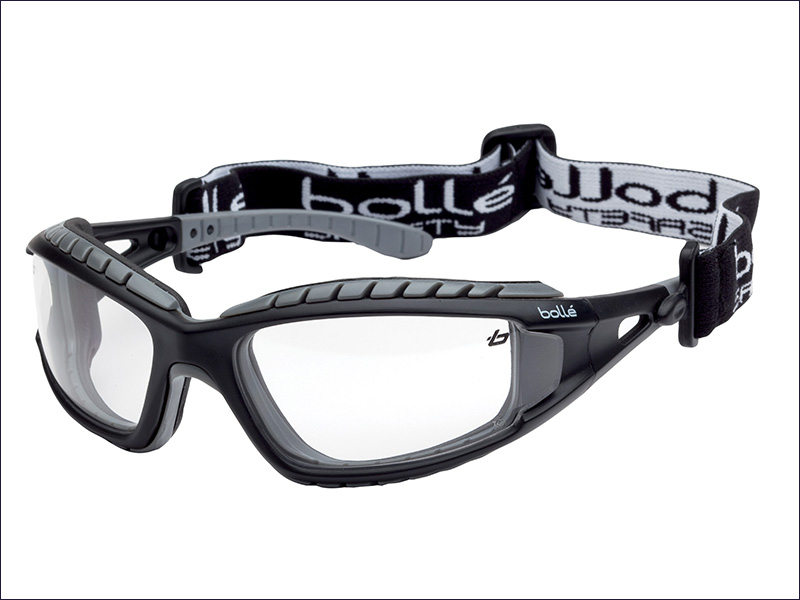 Bolle Tracker Safety Goggles Clear