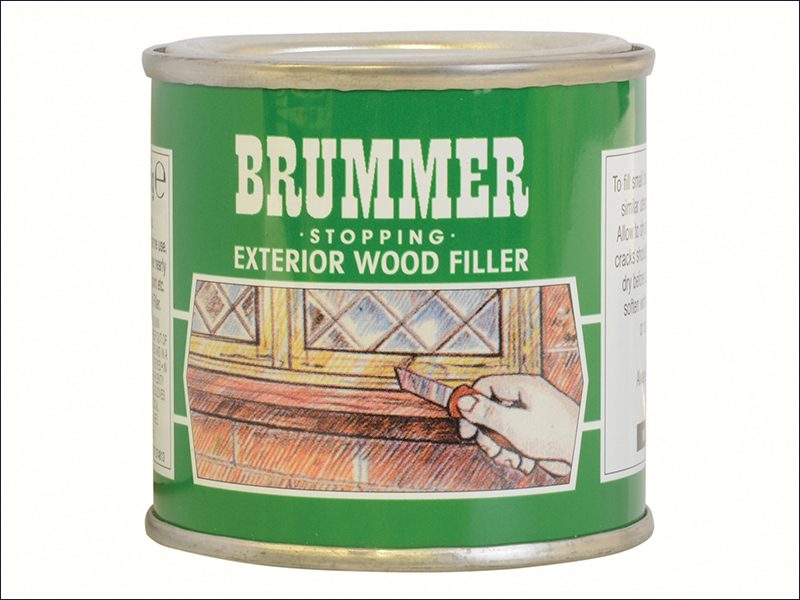 Brummer Natural Oak Wood Filler 225g