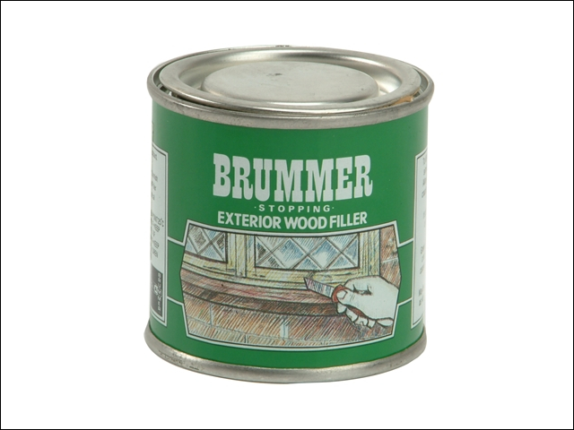 Brummer Exterior Wood Filler White 225g