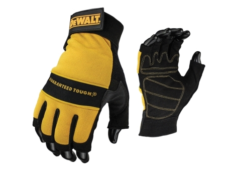 1/2 Synthetic Padded Leather Palm Glove