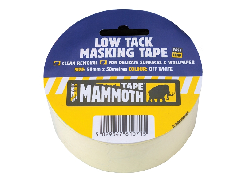 Low Tack Masking Tape 50mm