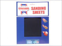 Emery Cloth Sheets 280mmx238mm Fine, Medium and Course