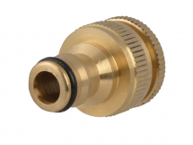 Brass Dual Tap Connector 1/2inch
