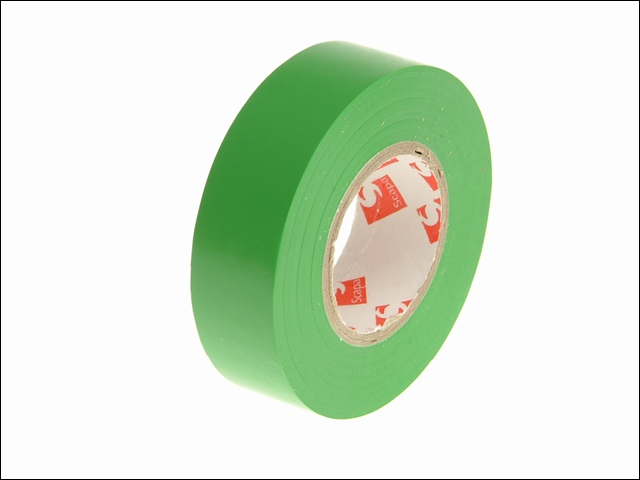 PVC Insulation Tape Green