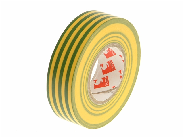 PVC Insulation Tape Green/Yellow