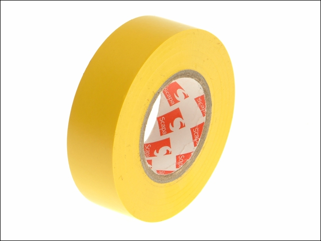 PVC Insulation Tape Yellow