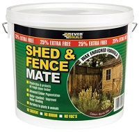 Shed & Fence Mate Country Oak 5 Litre