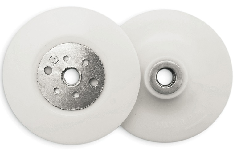 Angle Grinder Pad White 180mm