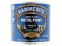 Hammerite Smooth Finish Paint White 250ml