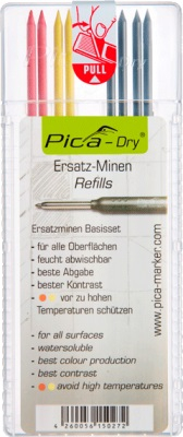 Pica Refill Black/Red/Yellow