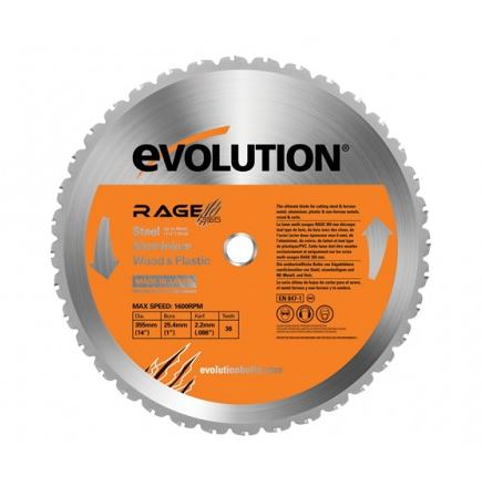 Saw Blade Rage 2 355mm M/P