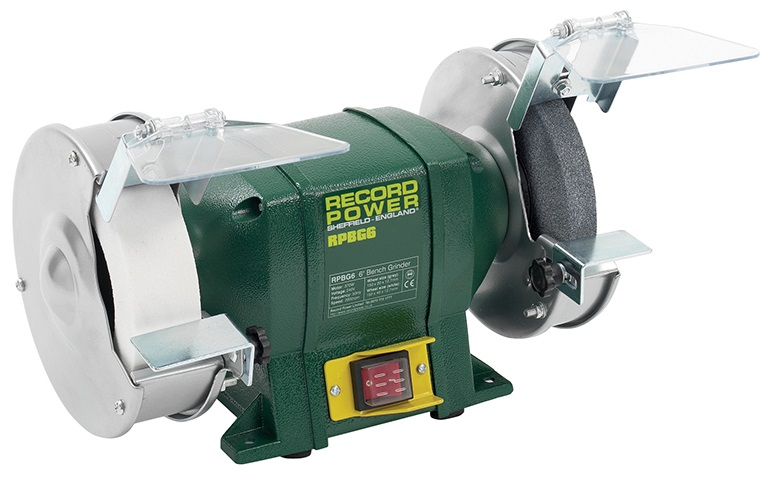 Record Power Bench Grinder