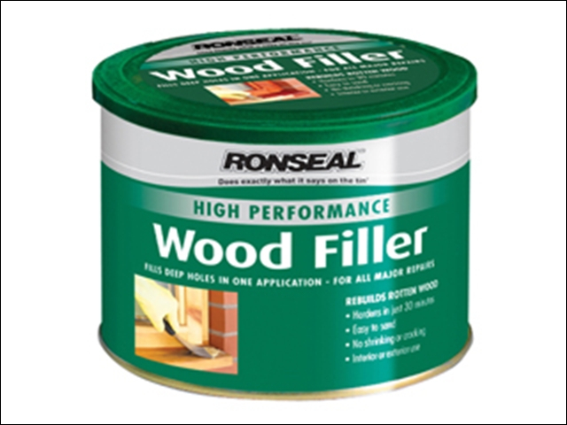 Ronseal High Performance Wood Filler Dark 275g
