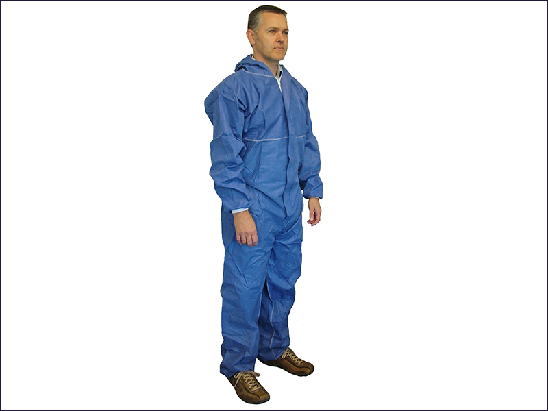 Disposable Overall Blue Extra Large