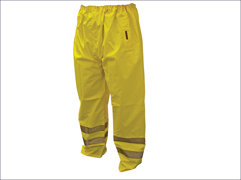 Hi-Vis Motorway Trouser Yellow Large