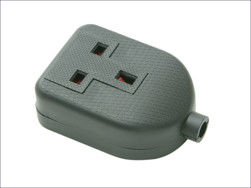Black Rubber Socket