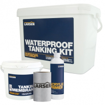 Larsen Waterproof Tanking Kit