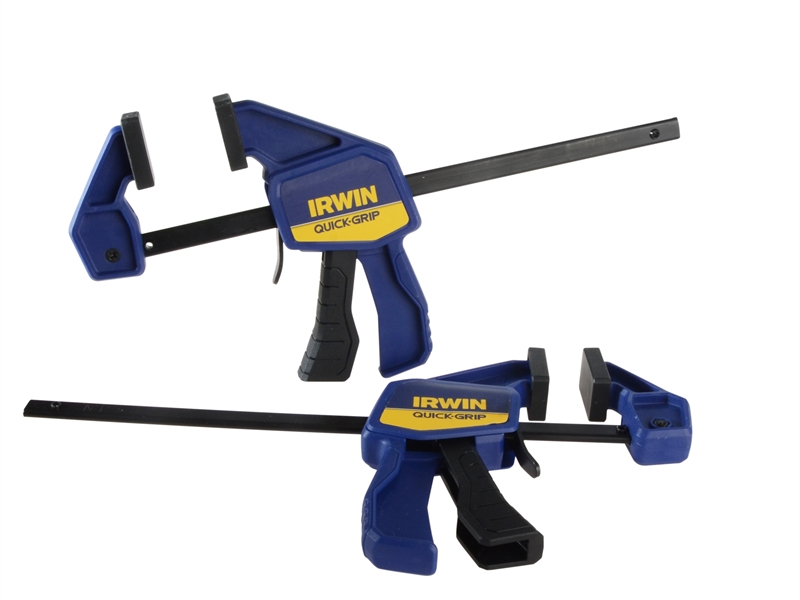 Irwin 6inch One Handed Clamp Twinpack